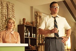 SHADY BUSINESS After his wife is murdered in a home invasion, suburbanite Gardner Moore (Matt Damon, right) and his sister-in-law, Margaret (Julianne Moore), become suspects of the insurance company. - PHOTO COURTESY OF BLACK BEAR PICTURES