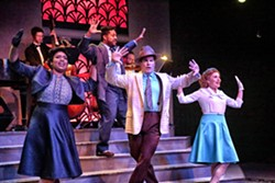 SHOW TIME The San Luis Obispo Repertory Theatre opened its first season as a professional theater with The All Night Strut in August and is looking to officially launch a capital campaign for a new $5 million to $10 million building in the near future. - PHOTO COURTESY OF SLO REPERTORY THEATRE