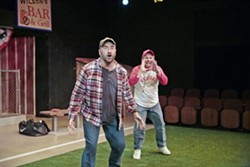 PLAY BALL Rounding Third takes a deep dive into drastically different life and parenting philosophies when odd couple Don (Travis Mitchell) and Michael (Timothy J. Cox) get paired up to coach a little league team. - PHOTO COURTESY OF RYLO MEDIA DESIGN