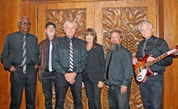 '60S REDUX On Nov. 17 and 18, check out nostalgia cover act Unfinished Business at D'Anbino's Tasting Room for two nights of classic American rock, soul, and R&B. - PHOTO COURTESY OF UNFINISHED BUSINESS