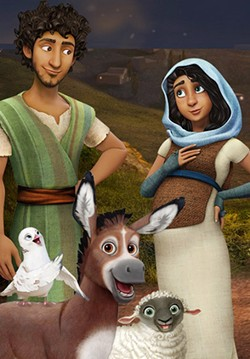 HOLY NIGHT Explore a retelling of the first Christmas in the animated film The Star. - PHOTO COURTESY OF A24