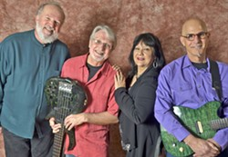 R&B DANCE NIGHT The terrific Irene Cathaway Rhythm and Blues Band plays D'Anbino's Tasting Room on Nov. 24. - PHOTO COURTESY OF THE IRENE CATHAWAY RHYTHM AND BLUES BAND