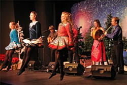 A CELTIC CHRISTMAS The 12th annual Winterdance Celtic Christmas Celebration featuring Molly's Revenge with Christa Burch and Irish Dancers comes to Los Osos' South Bay Community Center on Dec. 1. - PHOTO COURTESY OF WINTERDANCE