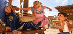 ANCESTORS In the animated film Coco, young Miguel journeys to the land of the dead to discover his family's long held ban on music. - PHOTO COURTESY OF DISNEY/PIXAR