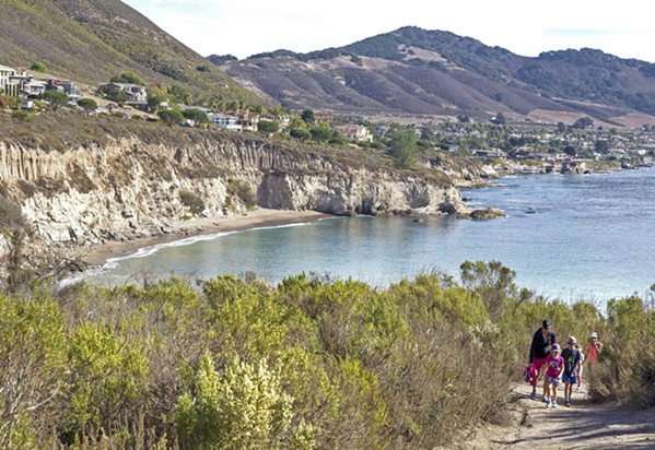 COVE MANAGEMENT SLO County will pursue a coastal development permit for a new management plan at Pirates Cove. - FILE PHOTO