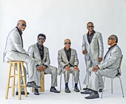 VOX DELUXE Grammy Lifetime Award winners The Blind Boys of Alabama perform their Christmas show at SLO's Performing Arts Center on Dec. 19. - PHOTO COURTESY OF THE BLIND BOYS OF ALABAMA