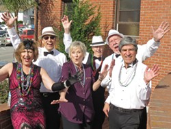 HOT JAZZ Judith and the Jazz Krewe is one of two groups playing in the Pismo Beach Vets Hall on Dec. 17. - PHOTO COURTESY OF JUDITH AND THE JAZZ KREWE
