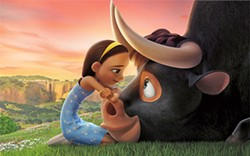 HOME ON THE RANGE A young bull must find his way back home in Ferdinand. - PHOTO COURTESY OF BLUE SKY STUDIO/20TH CENTURY FOX