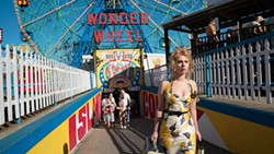 CONNECTED In Wonder Wheel, the lives of a lifeguard, carousel operator, former actress, and a young girl on the run from gangsters are intertwined at Coney Island in the 1950s. - PHOTO COURTESY OF AMAZON STUDIOS