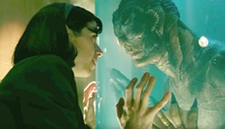 LIFE Government worker Elisa (Sally Hawkins) develops a strong connection with the subject of an experiment in The Shape of Water. - PHOTO FOX SEARCHLIGHT PICTURES