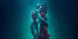 HUMAN? Government worker Elisa (Sally Hawkins) develops a strong connection with the subject of an experiment in The Shape of Water. - PHOTO COURTESY OF FOX SEARCHLIGHT PICTURES