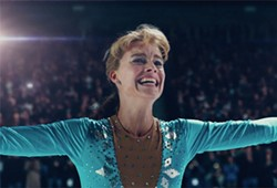 TAINTED LEGACY In I, Tonya, filmmakers revisit the tragic tabloid tale of the events that transpired between Olympic ice skaters Tonya Harding (Margot Robbie, pictured) and Nancy Kerrigan (Caitlin Carver). - PHOTO COURTESY OF NEON