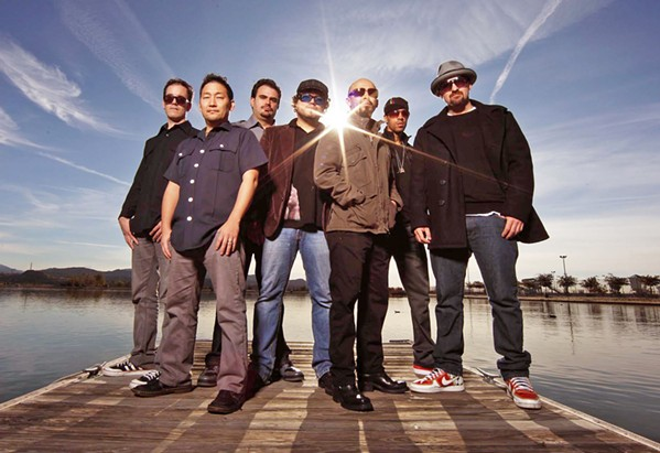 STRAIGHT OUTTA LA Ozomatli brings their modern Latino, urban, hip-hop, and world music sounds to the Fremont Theater on Jan. 11. - PHOTO COURTESY OF OZOMATLI