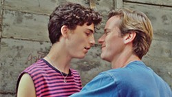 THE FIRST TIME In Call Me By Your Name, love blooms in Italy when Oliver (Armie Hammer) comes to intern for Elio Perlman's (Timothée Chalamet) father. - PHOTO COURTESY OF SONY PICTURES CLASSICS