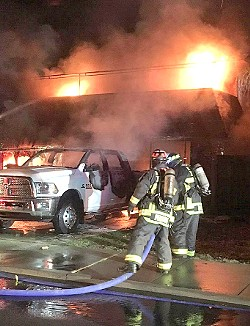 FIRE FIGHT The Five Cities Fire Authority is hoping to address a critical staffing shortage by nixing its part-time reserve program and hiring six full-time firefighters. - PHOTO COURTESY OF THE FIVE CITIES FIRE AUTHORITY