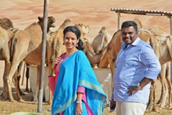 THE ONE THAT GOT AWAY Filmmaker Shilpa Krishnan's movie, There's Always Tomorrow, centers on two former lovers who reconnect years later while traveling in Abu Dhabi. - PHOTO COURTESY OF SHILPA KRISHNAN