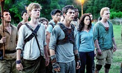 INFILTRATE In Maze Runner: The Death Cure, Thomas (Dylan O'Brien, center) and his group of escaped Gladers must break into what may be the deadliest maze of all in order to find answers. - PHOTO COURTESY OF 20TH CENTURY FOX