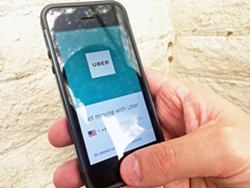 RIDE RISK The recent arrest of an Uber driver accused of sexual assault has raised concerns about the safety of driving service apps. - PHOTO BY CHRIS MCGUINNESS