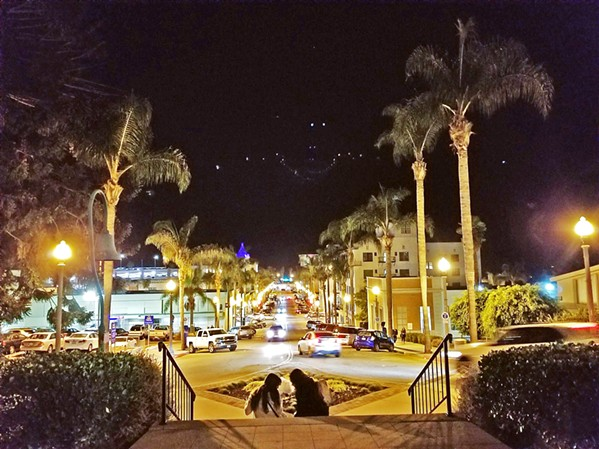 VIEWS The streets of downtown Ventura are busy with cars and tourists, but the vibe is still very calm and inviting. - PHOTO BY KAREN GARCIA