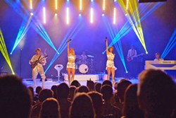 ALMOST SOLD OUT! Abba tribute band Abba Mania plays Feb. 24, at the Clark Center. Few tickets remain! - PHOTO COURTESY OF ABBA MANIA