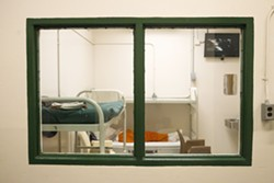 MAKING CHANGES In an effort to address concerns about inmate care, the SLO County Sheriff's Office will hire a chief medical officer to oversee all aspects of mental and medical care at the SLO County Jail. - PHOTO BY JAYSON MELLOM