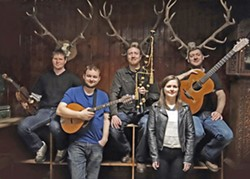 HIGHLANDS SOUNDS Scottish super group Daimh plays two SLOfolks shows this week on March 2, at Coalesce; and March 3, at Castoro Cellars. - PHOTO COURTESY OF DAIMH
