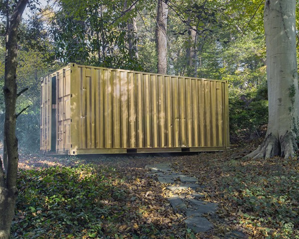 TRANSPORT Portals, which come as either shipping containers or inflatable structures, allow people to connect and talk to people all over the world. - PHOTO COURTESY OF CUESTA COLLEGE