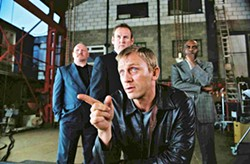 DEALER Daniel Craig plays a suave and savvy cocaine dealer in Matthew Vaughn's Layer Cake (2004). The role eventually caught the eye of Casino Royale director Martin Campbell, who cast Craig as James Bond because of it. - PHOTO COURTESY OF SONY PICTURES CLASSICS