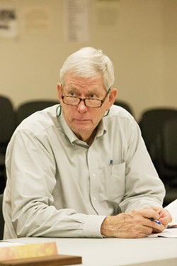 PLEA DEAL Former South SLO County Sanitation District administrator John Wallace pleaded guilty to two misdemeanor conflict of interest charges and will pay nearly $60,000 as part of a deal with SLO County prosecutors. - FILE PHOTO BY STEVE E. MILLER