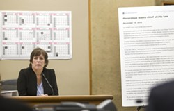 MAKING THEIR CASE CalCoastNews is asking a California appellate court to vacate $1.1 million in damages leveled against the website and its founders Karen Velie (above) and Dan Blackburn for authoring a defamatory article about a local businessman in 2012. - FILE PHOTO BY JAYSON MELLOM