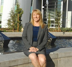 A NEW CHAPTER With plenty of experience working toward student success in community colleges. Jill Stearns is named Cuesta's new superintendent. - PHOTO COURTESY OF CUESTA COLLEGE