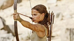 UNLOCKING THE PAST In Tomb Raider, a young Lara Croft (Alicia Vikander) tries to solve the mystery surrounding the death or disappearance of her adventurer father seven years ago. - PHOTO COURTESY OF WARNER BROS PICTURES