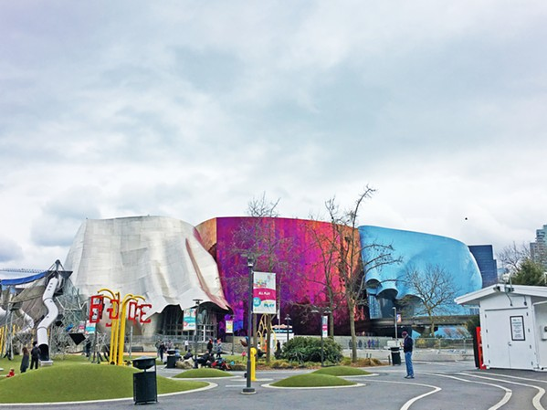 SIGHT TO SEE With plenty of exhibits, sights, and sounds, the Museum of Pop Culture is amazing and bursting with color. - PHOTO BY KAREN GARCIA