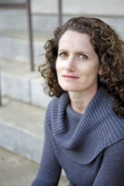 MIRA, MIRA, ON THE STAGE Award-winning poet Mira Rosenthal, a Cal Poly creative writing instructor, will perform selections from her work at CORE Winery in Orcutt on April 14. - PHOTO COURTESY OF MIRA ROSENTHAL