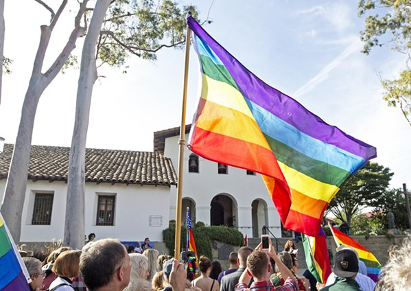 A NEW NAME? The Gay and Lesbian Alliance of the Central Coast (GALA) is asking its member whether they think the organization should change its name. - FILE PHOTO BY JAYSON MELLOM