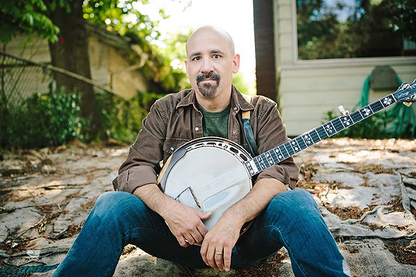 BLUES TO BLUEGRASS Award-winning singer-songwriter and multi-instrumentalist Tony Furtado and his band plays Painted Sky Studios on May 3. - PHOTO COURTESY OF ALICIA J. ROSE