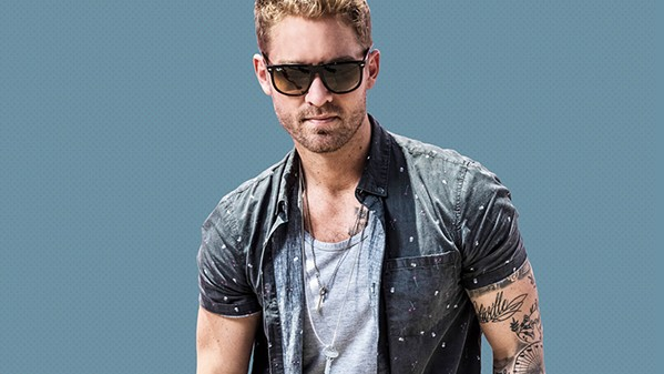 CALIVILLE Vina Robles Amphitheatre opens its season with California country pop singer Brett Young on April 27. - PHOTO COURTESY OF BRETT YOUNG