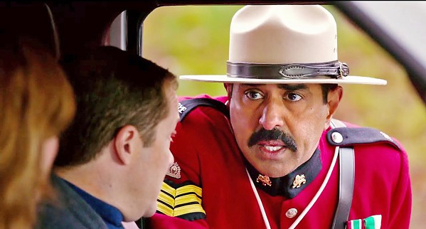 IMPOSTER Vermont Highway Patrolman Arcot 'Thorny' Ramathorn (Jay Chandrasekhar) impersonates a Canadian Mountie in an attempt to discredit his rivals. - PHOTO COURTESY OF BROKEN LIZARD INDUSTRIES