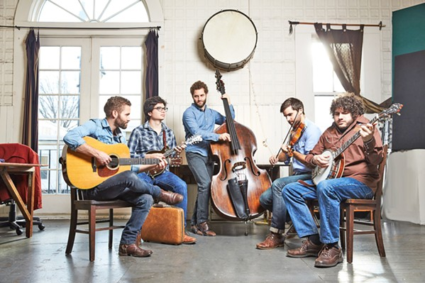 CLASSIC BLUEGRASS The Lonely Heartstrings Band headlines the Parkfield Bluegrass Festival May 10 to 13, in Parkfield. - PHOTO COURTESY OF THE LONELY HEARTSTRING BAND