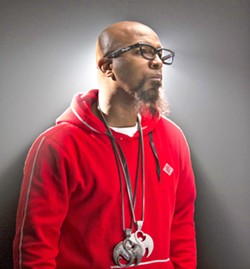THE FASTEST Rapid-fire chopper-style rapper Tech N9ne (pictured) brings his Planet Tour 2018 with special guests Krizz Kaliko, Just Juice, Joey Cool, and King ISO to the Fremont Theater on May 6. - PHOTO COURTESY OF TECH N9NE