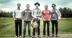 BUY 'EM WHILE THEY'RE HOT Alt-Americana act The Brothers Comatose (pictured) play a ticketed, four-act SLO Mission Plaza show on May 17, with Próxima Parada, The Cimo Brothers, and Bear Market Riot opening. - PHOTO COURTESY OF THE BROTHERS COMATOSE