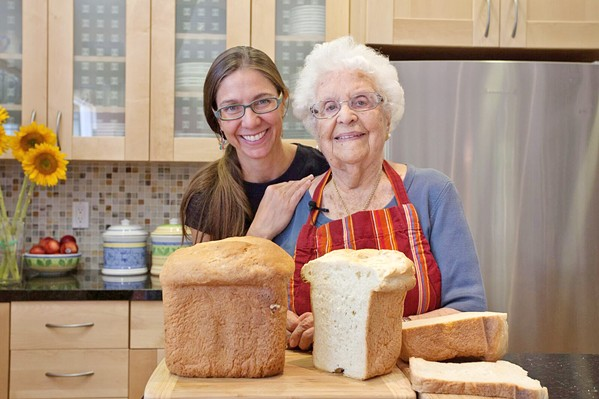 INSPIRATION! Documentarian Sky Bergman (left) was inspired by her grandmother, Evelyn Ricciuti, to make her film about the secret to a good life. Ricciuti lived to 103. - PHOTO COURTESY OF SKY BERGMAN