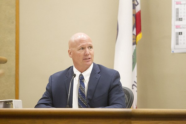 MAKING AN APPEAL Lawyers for Arroyo Grande waste management businessman Charles Tenborg (above) are asking a state appeals court to uphold a SLO Juries $1.1 million libel judgment against local website CalCoastNews. - FILE PHOTO BY JAYSON MELLOM