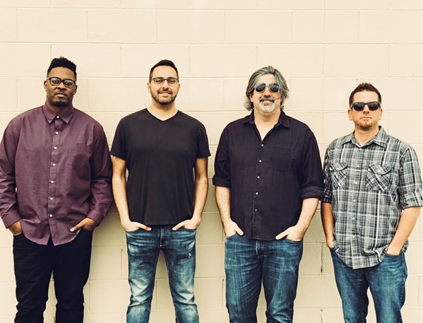 FOURSOME Local pop, rock, and folk act Carbon City Lights plays Sea Pines Golf Resort on June 16. - PHOTO COURTESY OF CARBON CITY LIGHTS