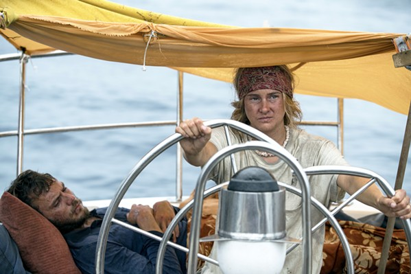 SURVIVORS With no help in sight, Richard (Sam Clafin) and Tami (Shailene Woodley) must rescue themselves through ingenuity and sheer force of will. - PHOTO COURTESY OF LAKESHORE ENTERTAINMENT