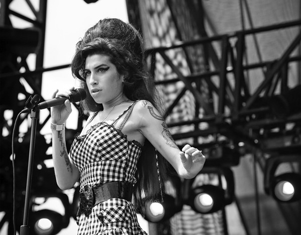 27 CLUB During her time as a festival and concert photographer in Austin, Texas, Celeste Hope captured images of iconic singers like Amy Winehouse. - PHOTO COURTESY OF CELESTE HOPE
