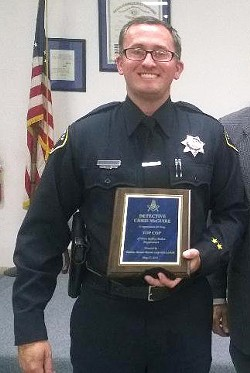 """UNDER INVESTIGATION Paso Robles Police Department Sergeant Chris McGuire (above) was placed on leave May 9 after being accused of committing a """"serious criminal act"""" according to Paso Police Department Chief Ty Lewis. - COURTESY PHOTO"""