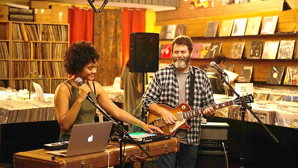 ENCORE In Hearts Beat Loud, a father (Nick Offerman) and his daughter (Kiersey Clemons) form a band the summer before she leaves for college. - PHOTO COURTESY OF GUNPOWDER & SKY