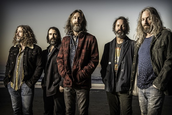 DO THE HIPPY SHAKE Psychedelic groovers The Chris Robinson Brotherhood play the Fremont Theater on July 12. - PHOTO COURTESY OF JAY BLAKESBURG