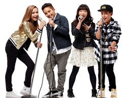 FAMILY FUN The KIDZ Bop kids will deliver a family friendly concert at Vina Robles Amphitheatre on July 17. - PHOTO COURTESY OF KIDZ BOP